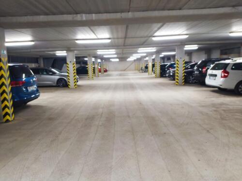 Prostorná garáž